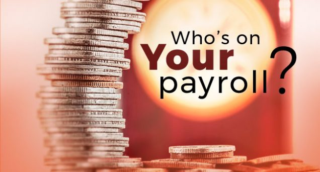 Who's on Your Payroll Article by SDCCPA