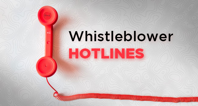 Whistleblower Hotlines article by SDCCPA