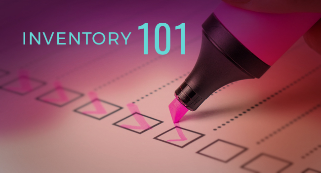 Inventory 101 Article by SDCCPA
