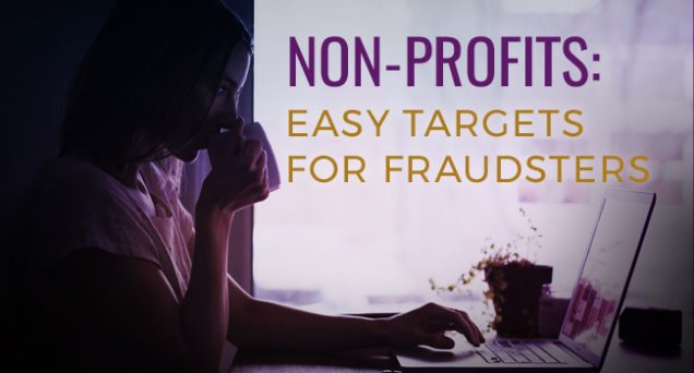 Non-Profits Easy Targets for Fraudsters Article by SDCCPA