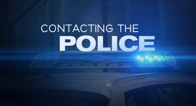 Contacting the Police Article by SDCCPA